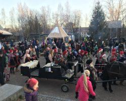 Julemarkedet på Norsk Folkemuseum