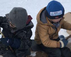 Skoleskogdag på Åstjern